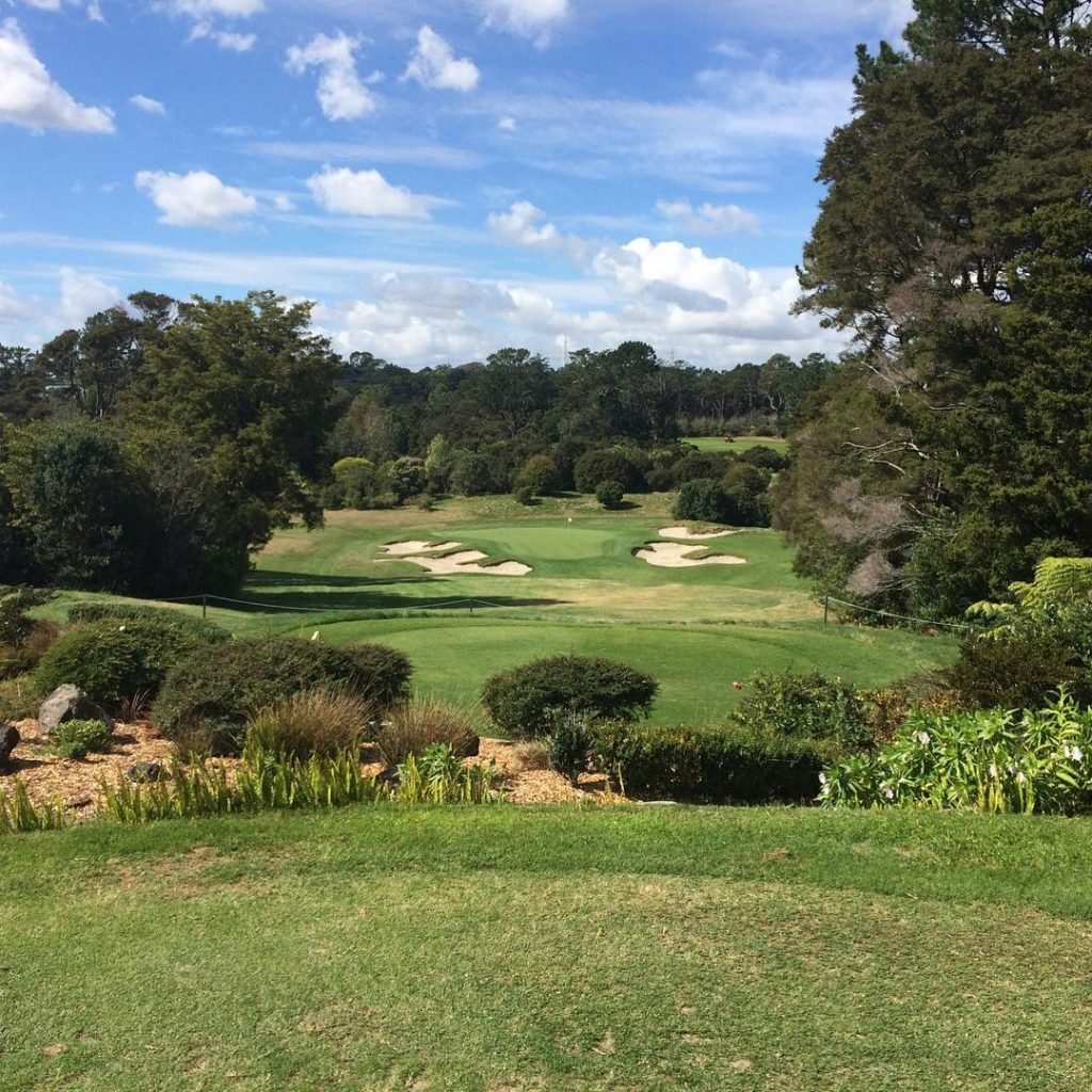 Titurangi GC Auckland New Zealand The only Alister MacKenzie coursehellip