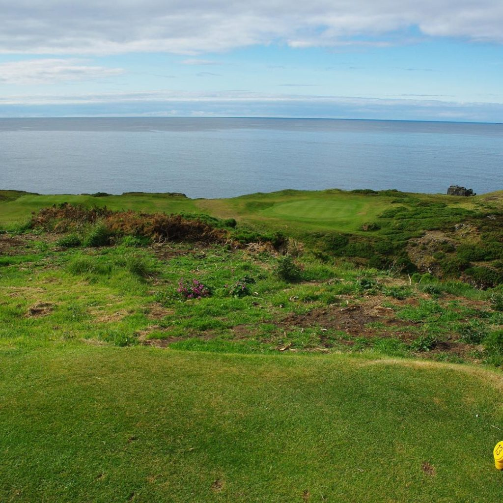 Royal Tarlair GC Macduff Scotland Hole 13 Par 3 towardshellip