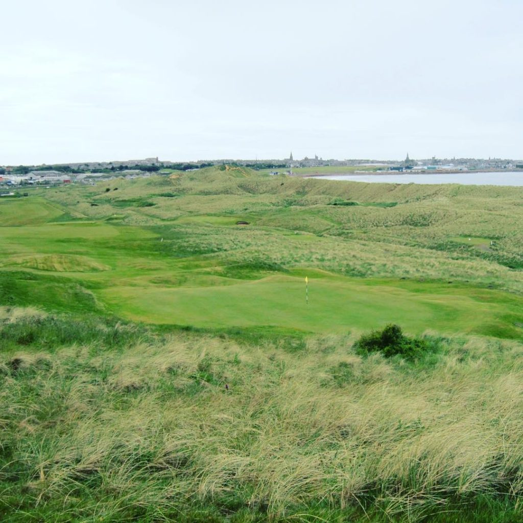 Fraserburgh GC Aberdeenshire Scotland 7th oldest Golf Club in thehellip