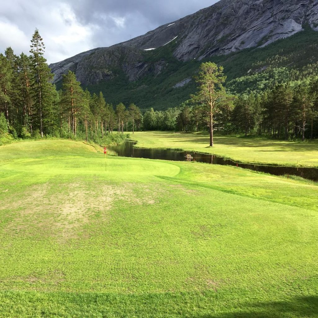 Skjomen Golfpark Narvik Norway 68 26 N Hole 18 Thehellip