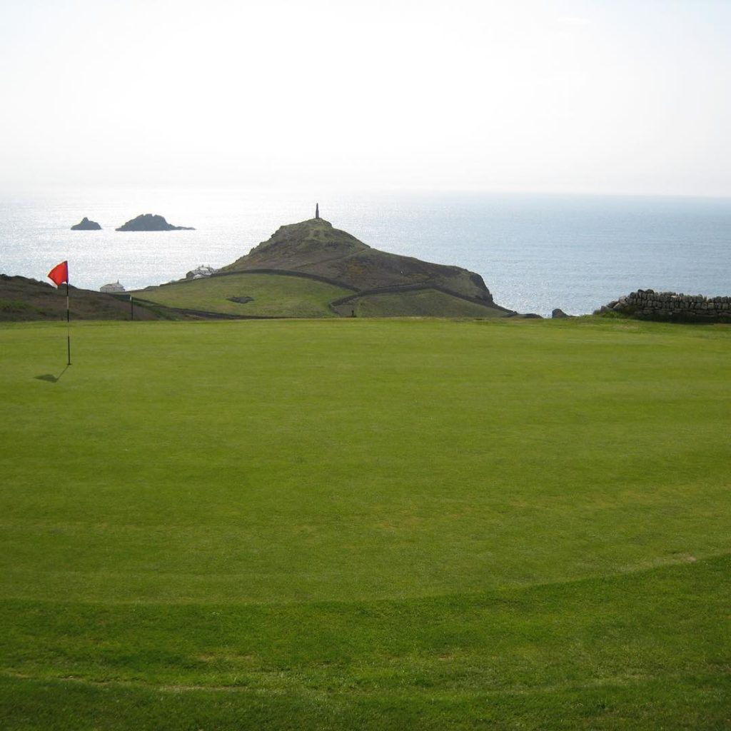 Cape Cornwall GC A little bit north of Lands Endhellip