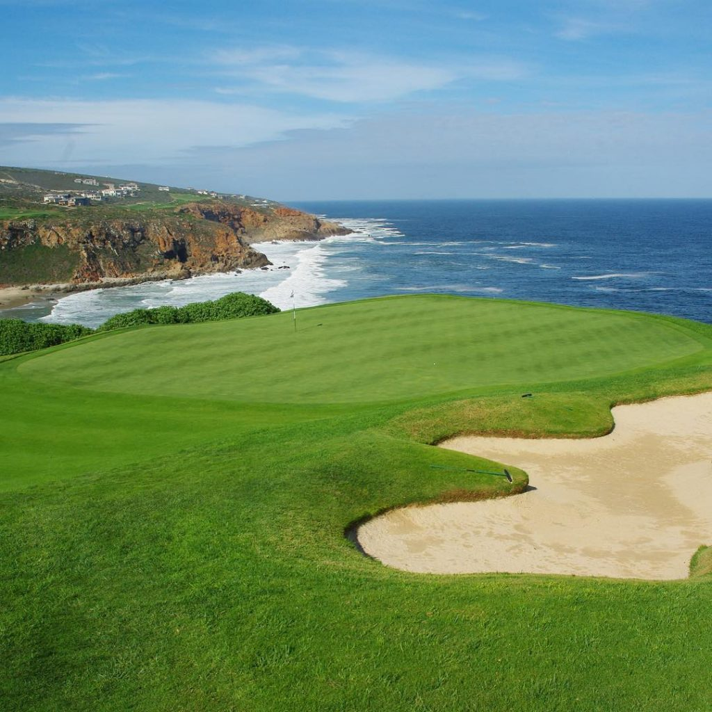 Pinnacle Point Mossel Bay South Africa Green Hole 18 golfhellip