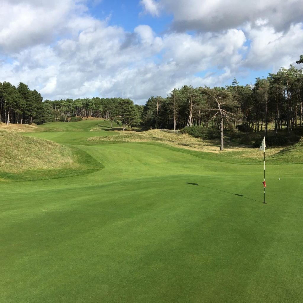 Formby GC Formby England Hole 8 Great course! golf golfcoursehellip