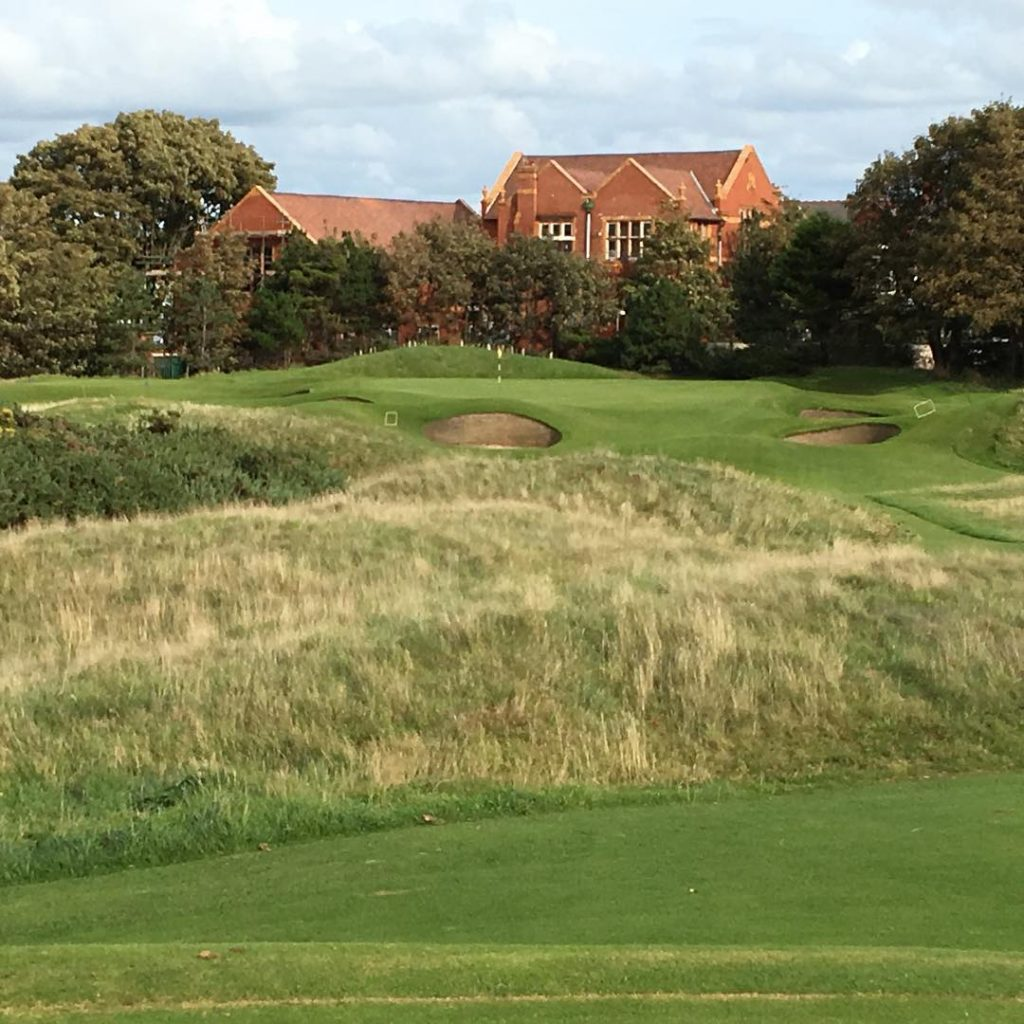 Royal Lytham amp St Annes Lytham England Hole 9 Shorthellip