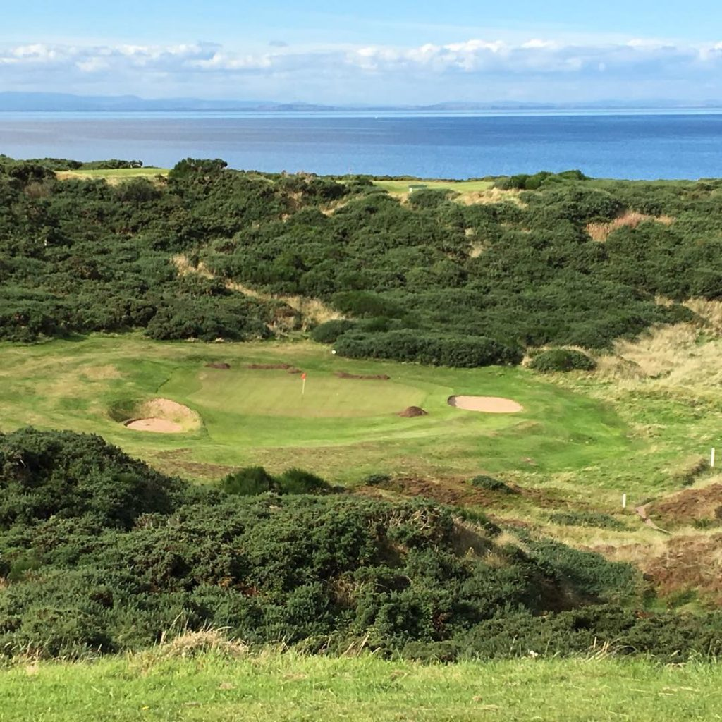 Hopeman GC Hopeman Scotland The famous hole 12 The Prieshachhellip