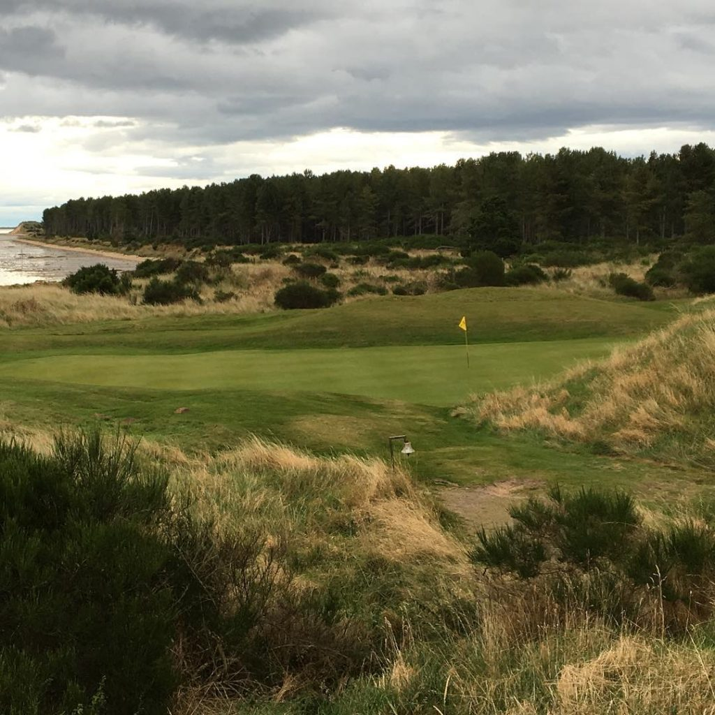 Tain GC Scotland Hole 11 The Alps Blind 2nd shothellip