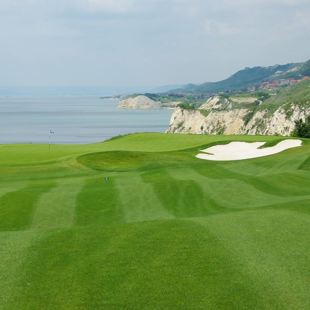 Thracian Cliffs Bulgaria Magnificent views in a spectecular landscape golfhellip