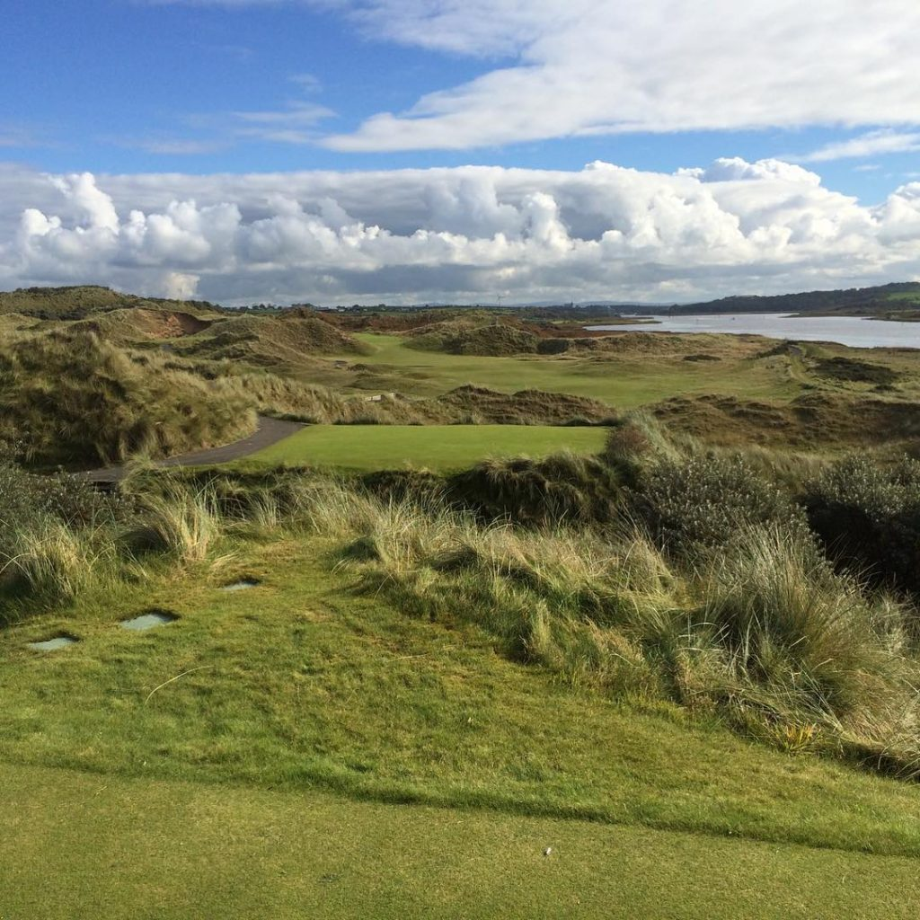 Portstewart GC Northern Ireland Strand Course The great hole 5hellip