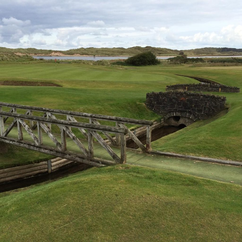 Castlerock Northern Ireland Green Hole 6 Make sure that youhellip
