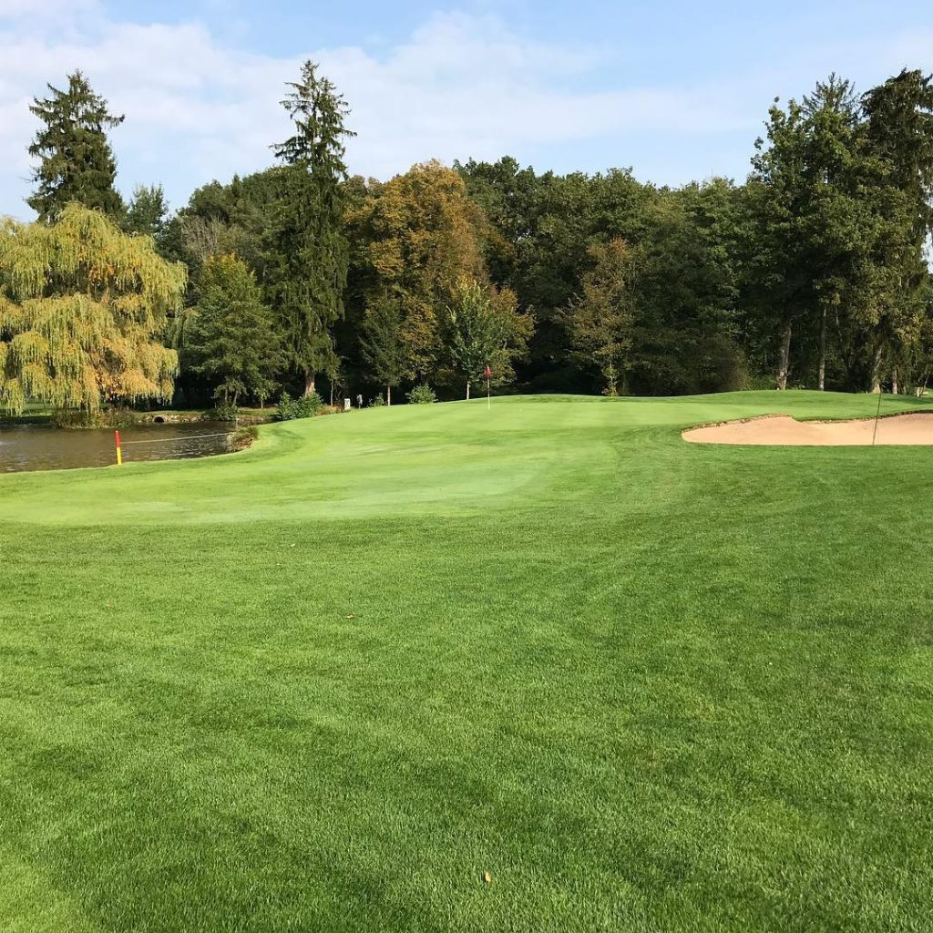 GC Hanau Hole 8 Short Par 4 The course ishellip