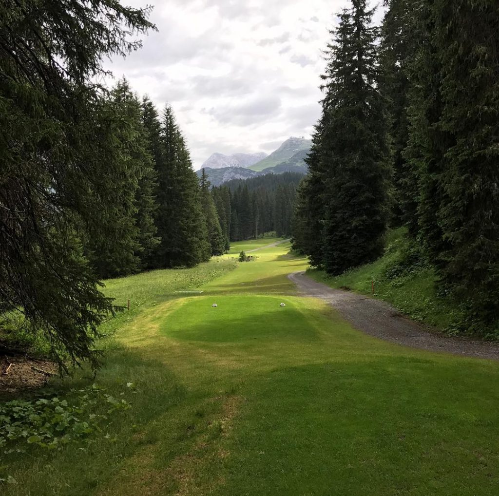 For those who like narrow fairways GC Lech am Arlberghellip