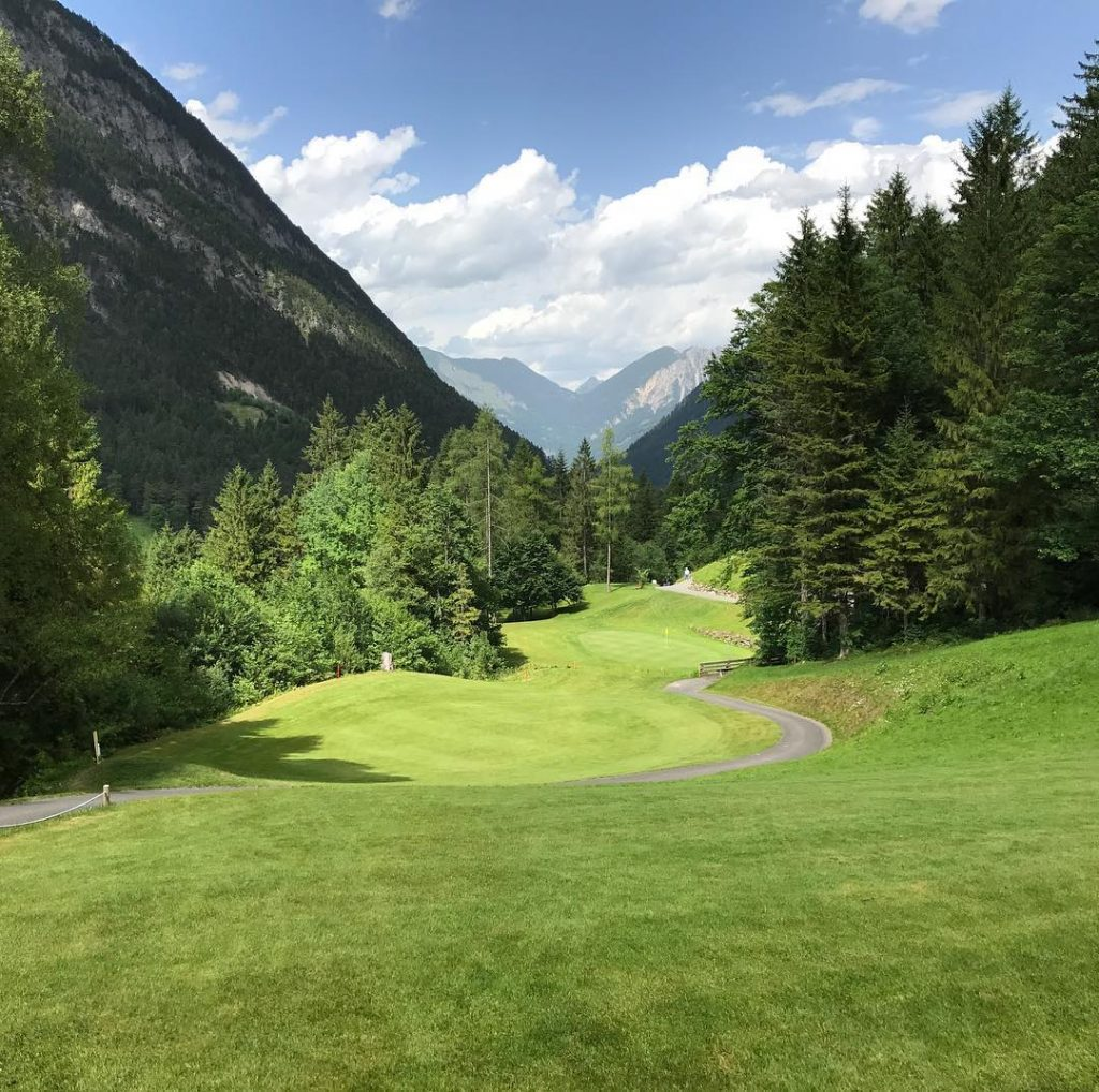 GC Brand Vorarlberg Austria A nice little course with spectacularhellip