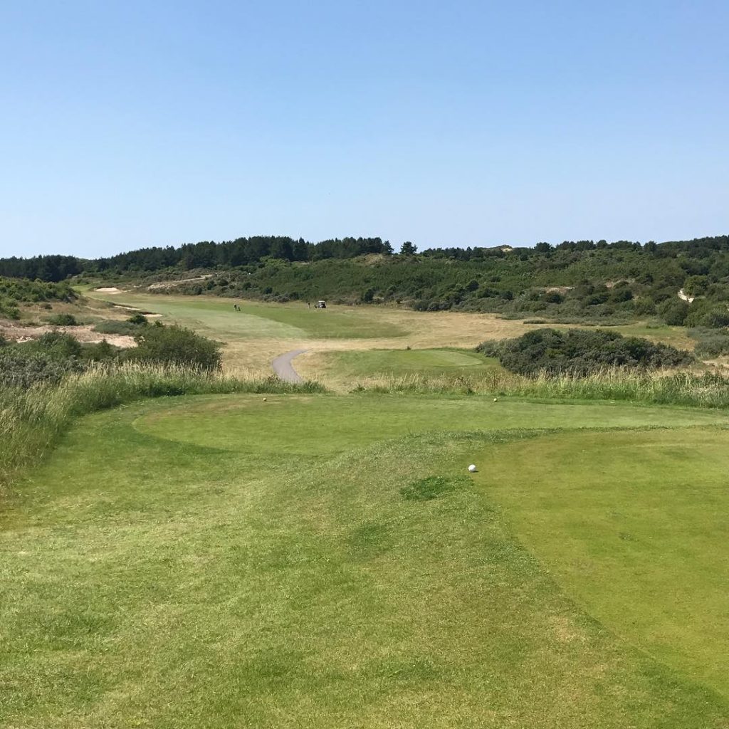 Le Touquet La Mer France Hole 11 Nice course closehellip
