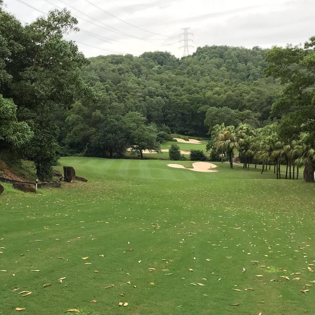 Golf in Vietnam New experience Yesterday played Chi Linh GChellip