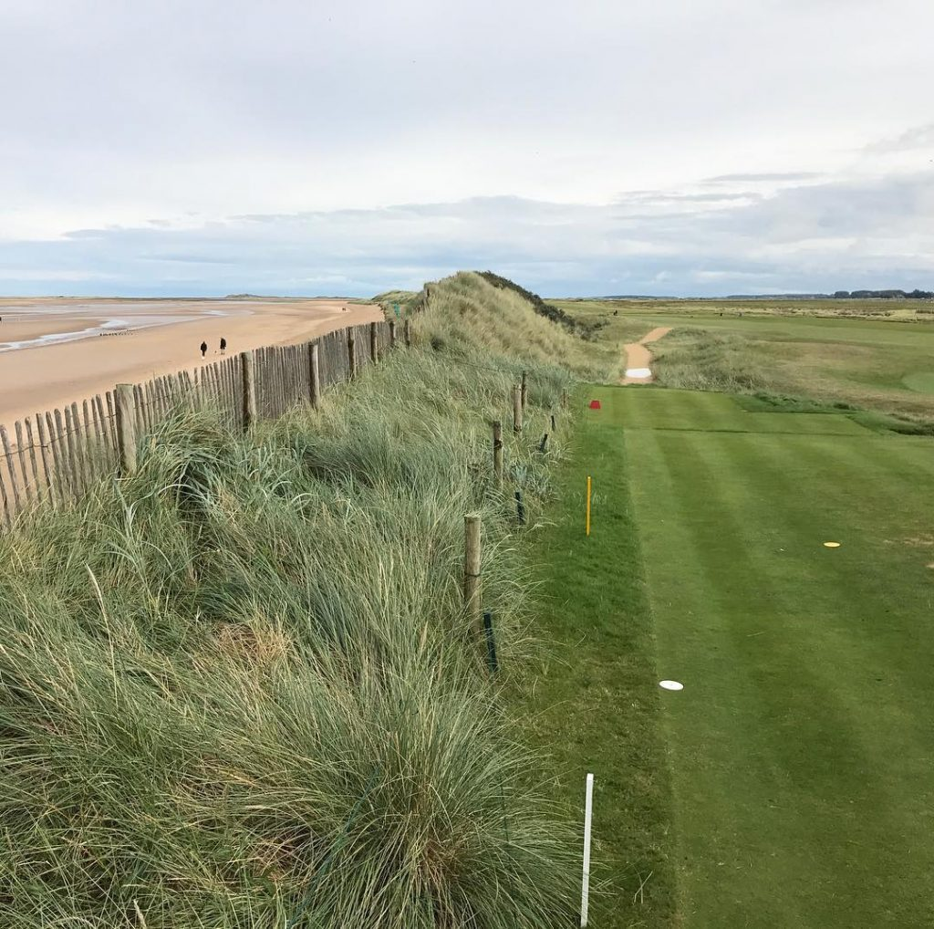 Royal West Norfolk GC or Brancaster View from the teehellip