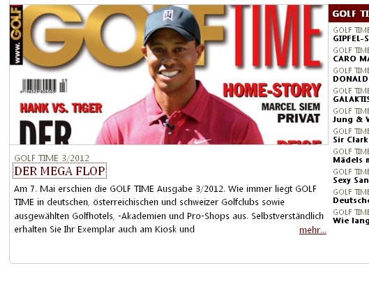 (Screenshot golftime.de)