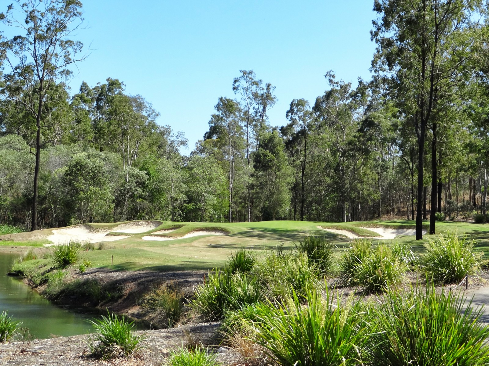 Loch 16, Brookwater Golf Club