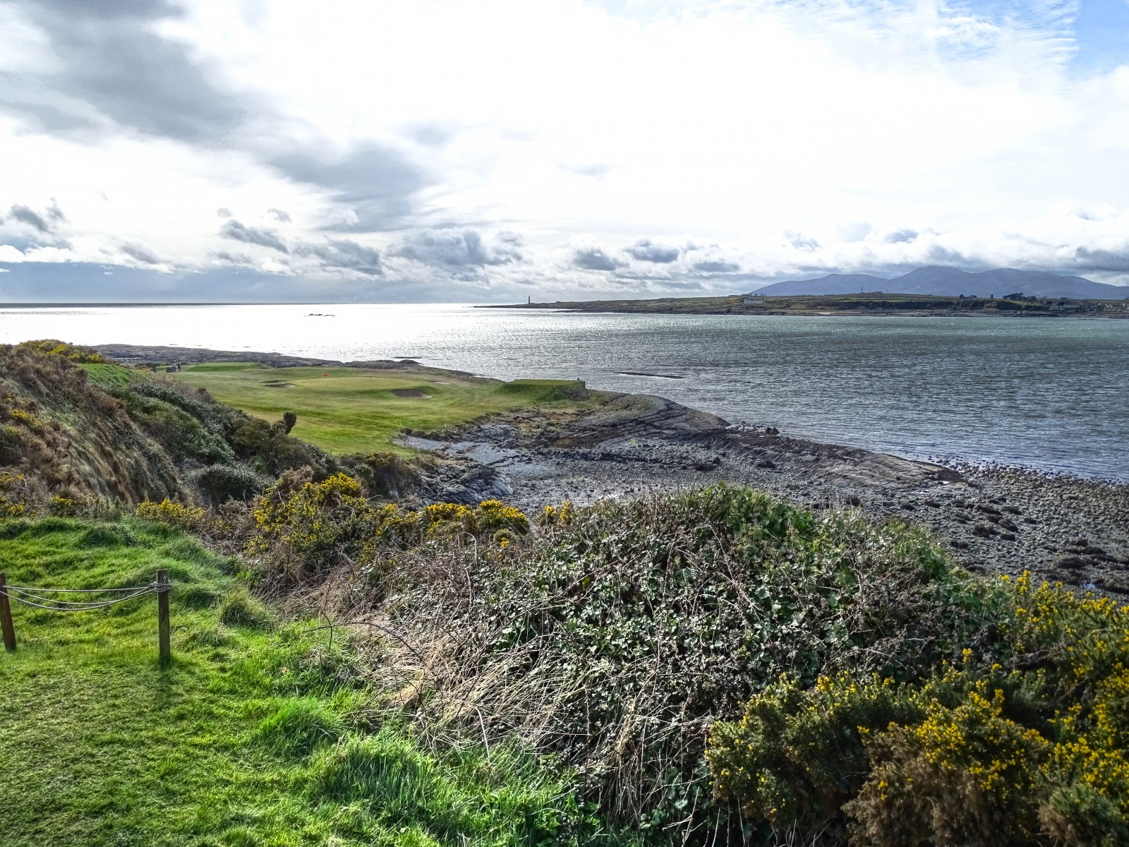 Ardglass Golf Club, Tee 12: Das Signature Hole