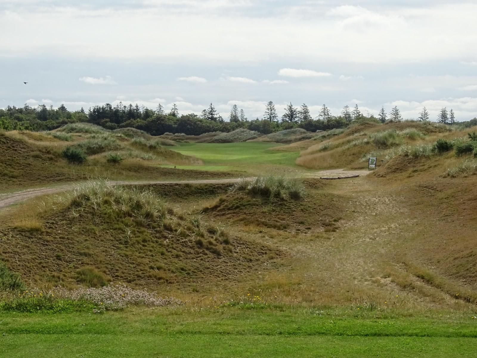 Golf Club Foehr: Blau 5