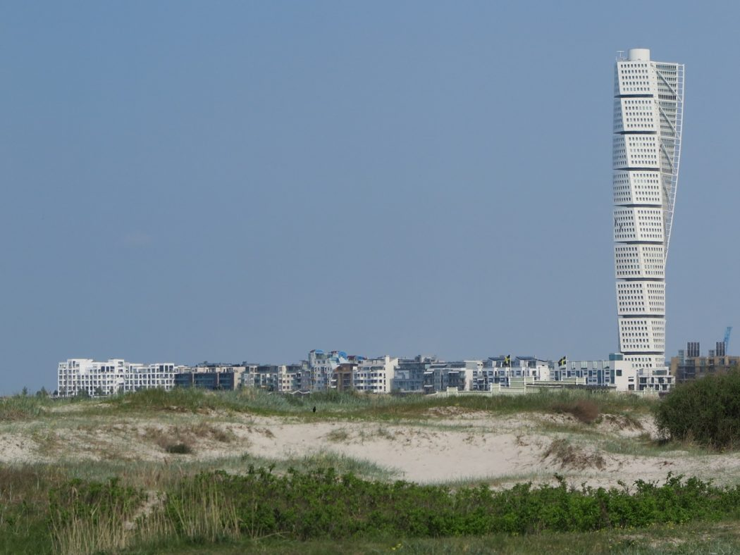 The Turning Tower in Malmö
