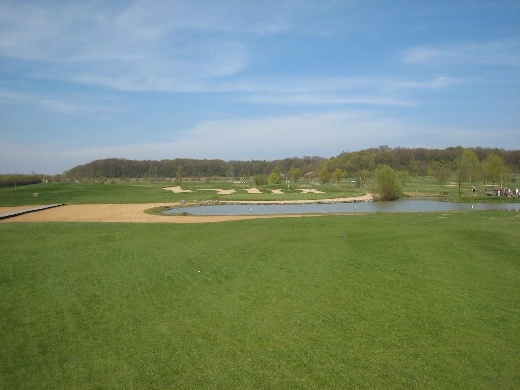 Blick Richtung Grün Loch 17