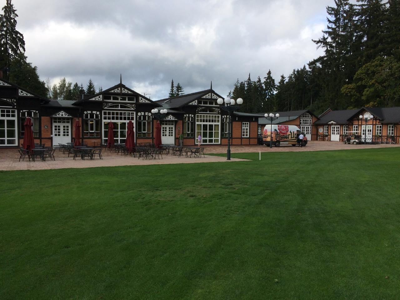 Das klassische Clubhaus
