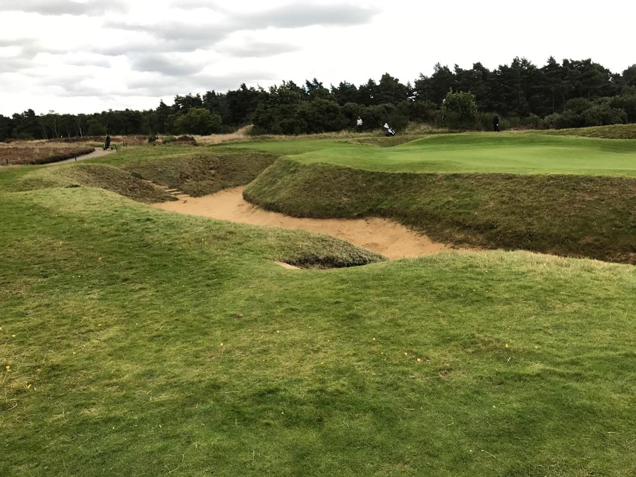 Bunker am Par 3 Loch 5