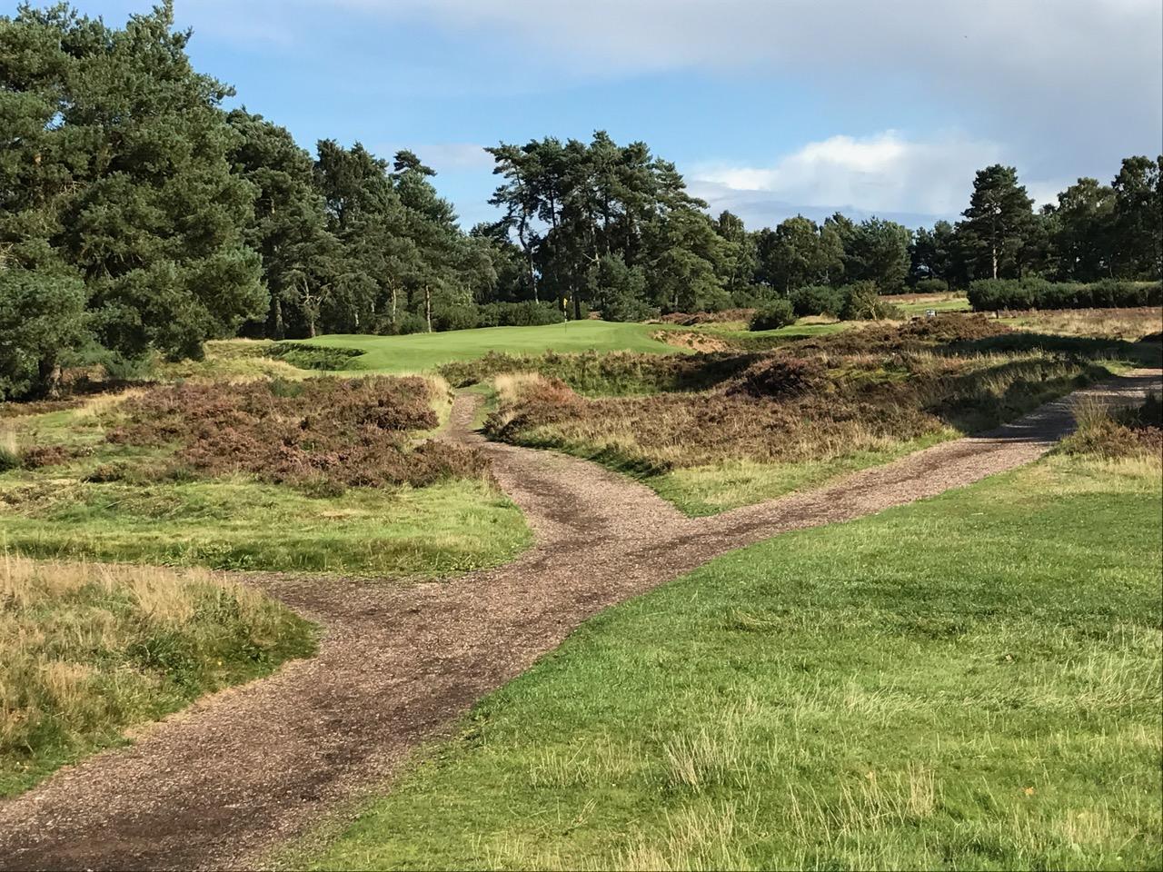 Woodhall Spa Hotchkin Course, Hole 12