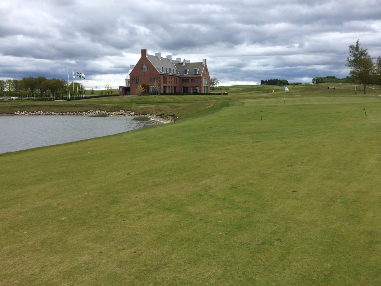 PGA National of Sweden. Lakes Course, Loch 18.