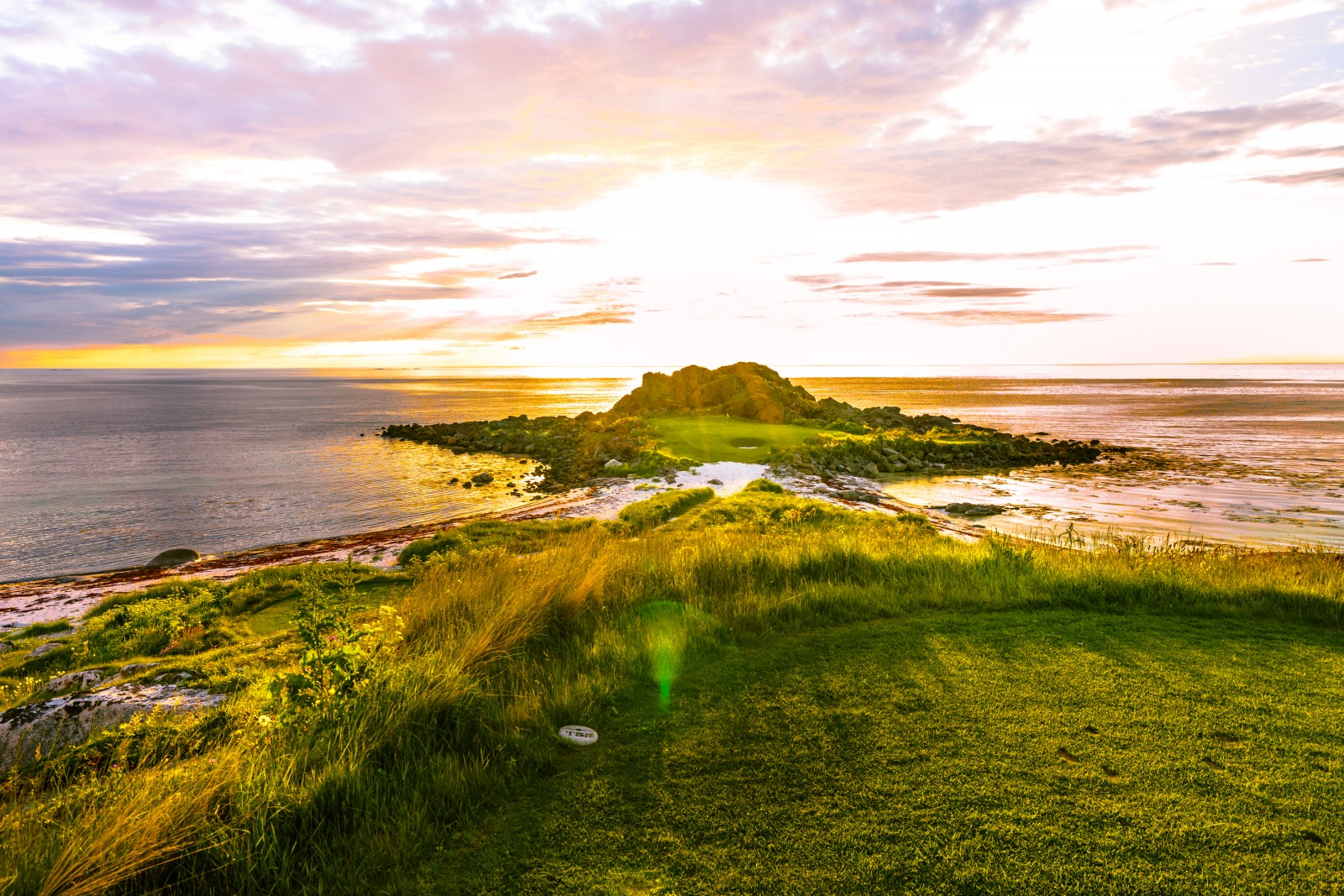 Lofoten Golf Links, Norwegen, Loch 2
