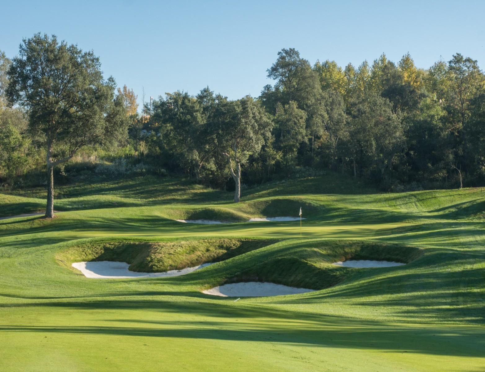 PGA Catalunya Stadium Course: Grün 9