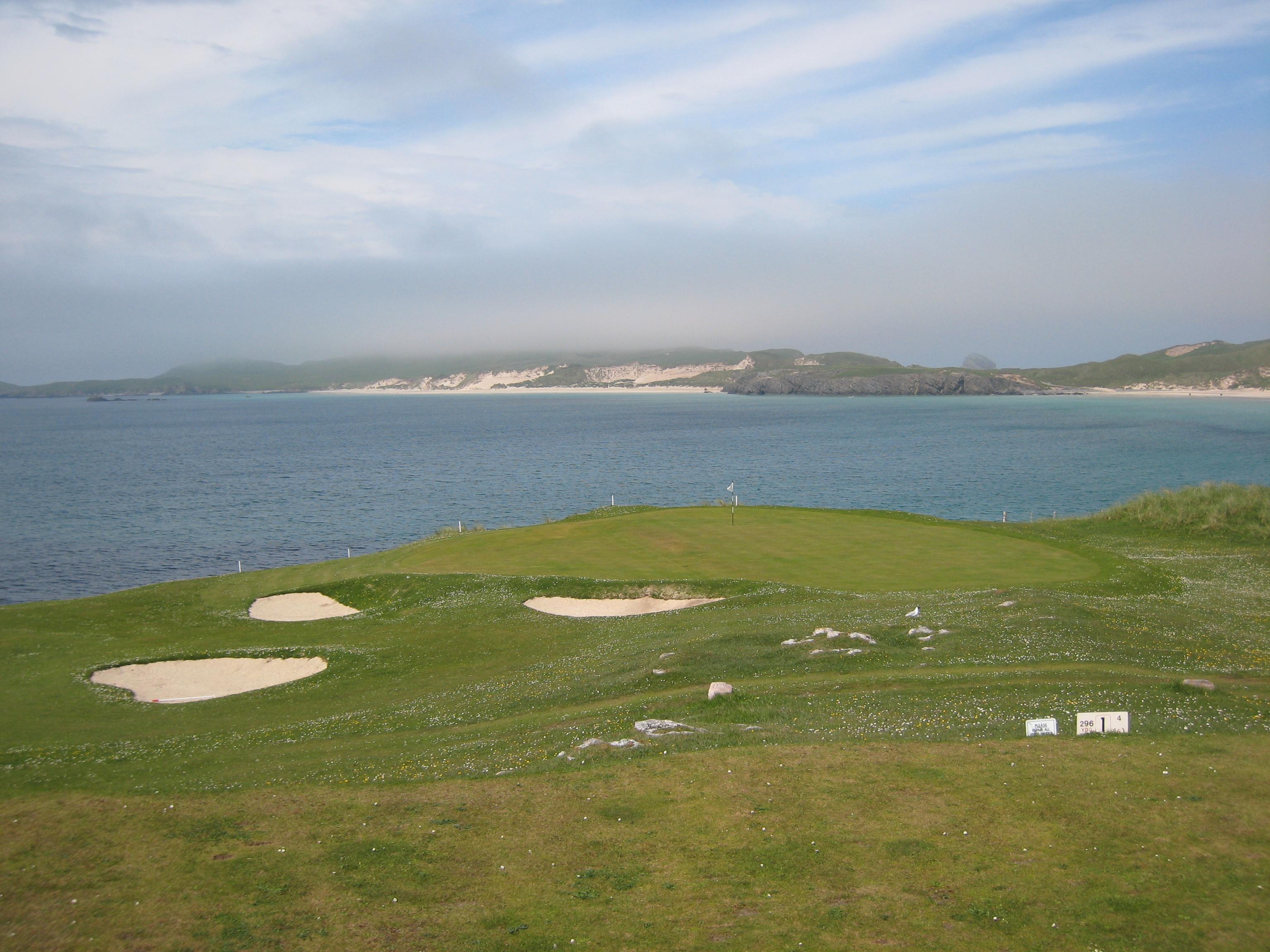 Durness Golf Club Loch 8