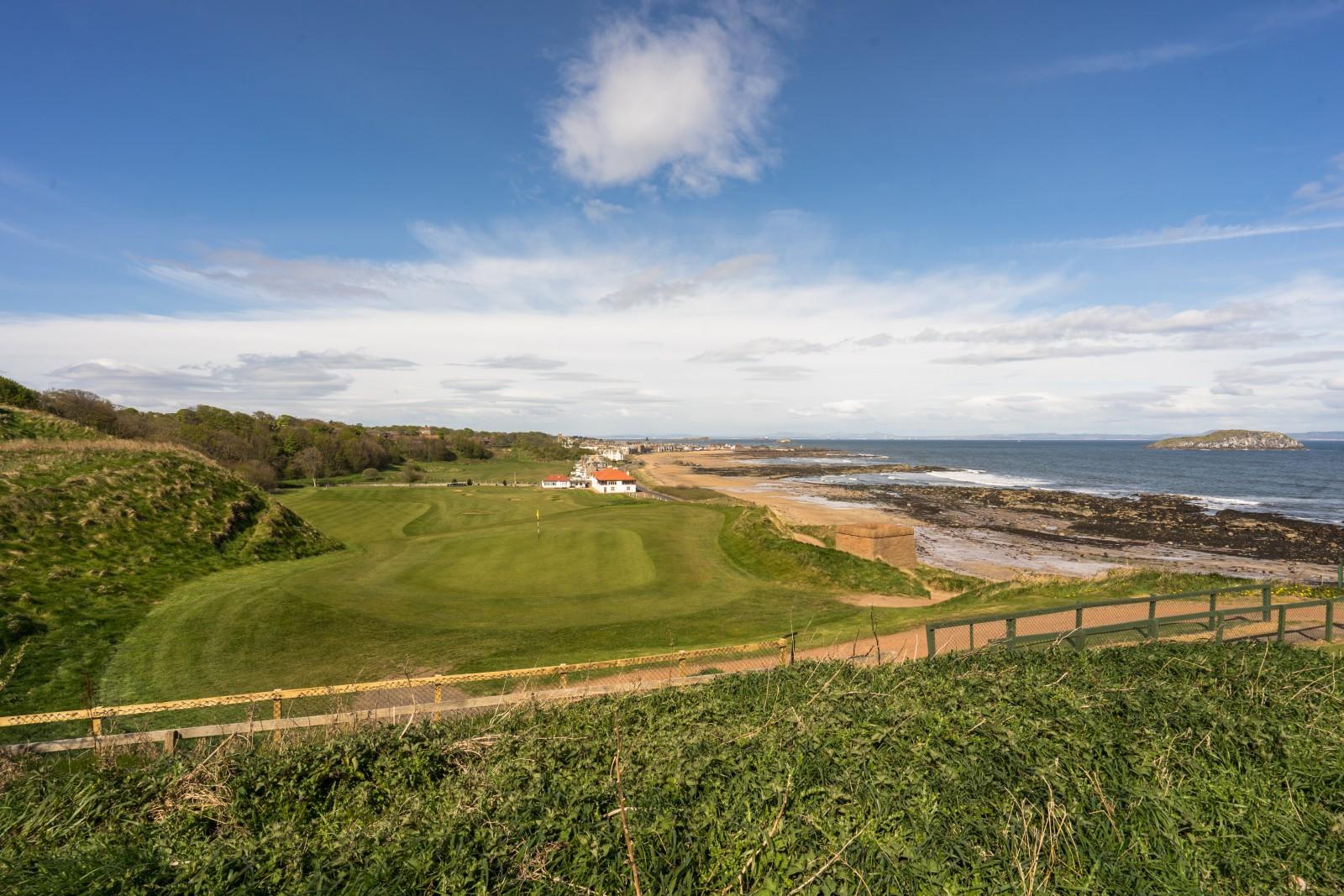 Glen Golf Club: Grün der 1