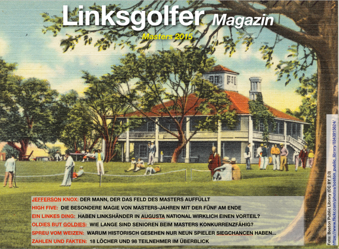 Das Linksgolfer Masters Magazin 2015