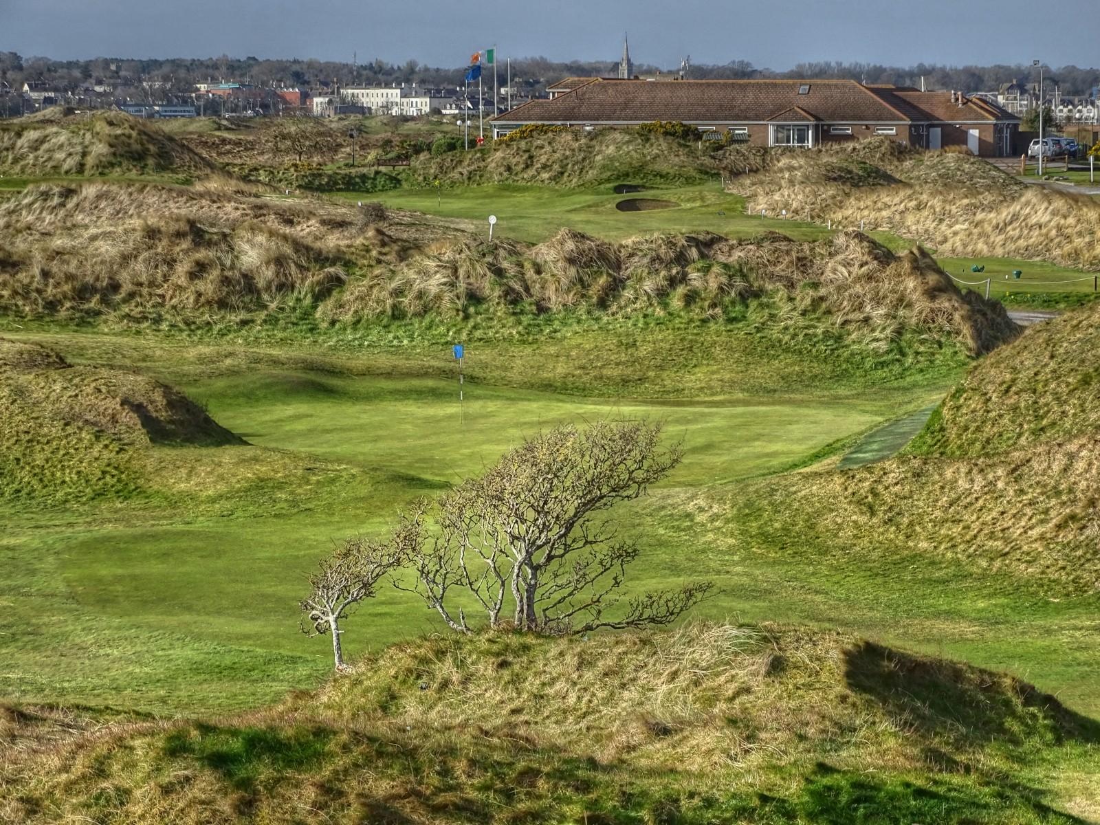 The Island Golf Club, Loch 8 (vorne) und 9