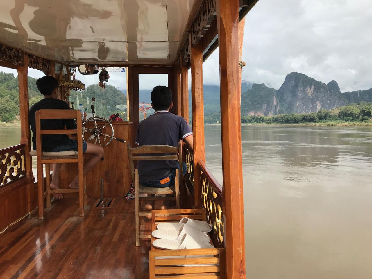 Tour auf dem Mekong