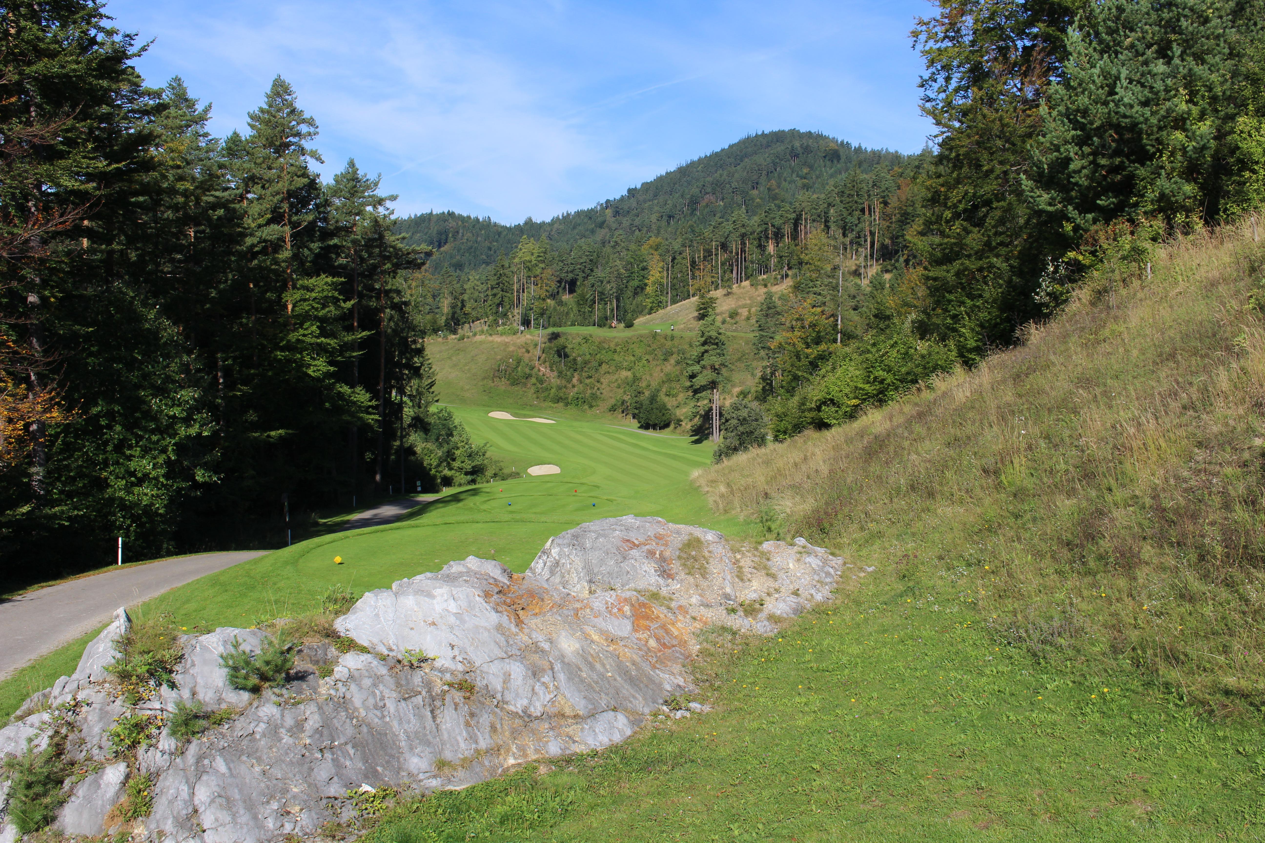 Adamstal - Abschlag Loch 7 Green Monster