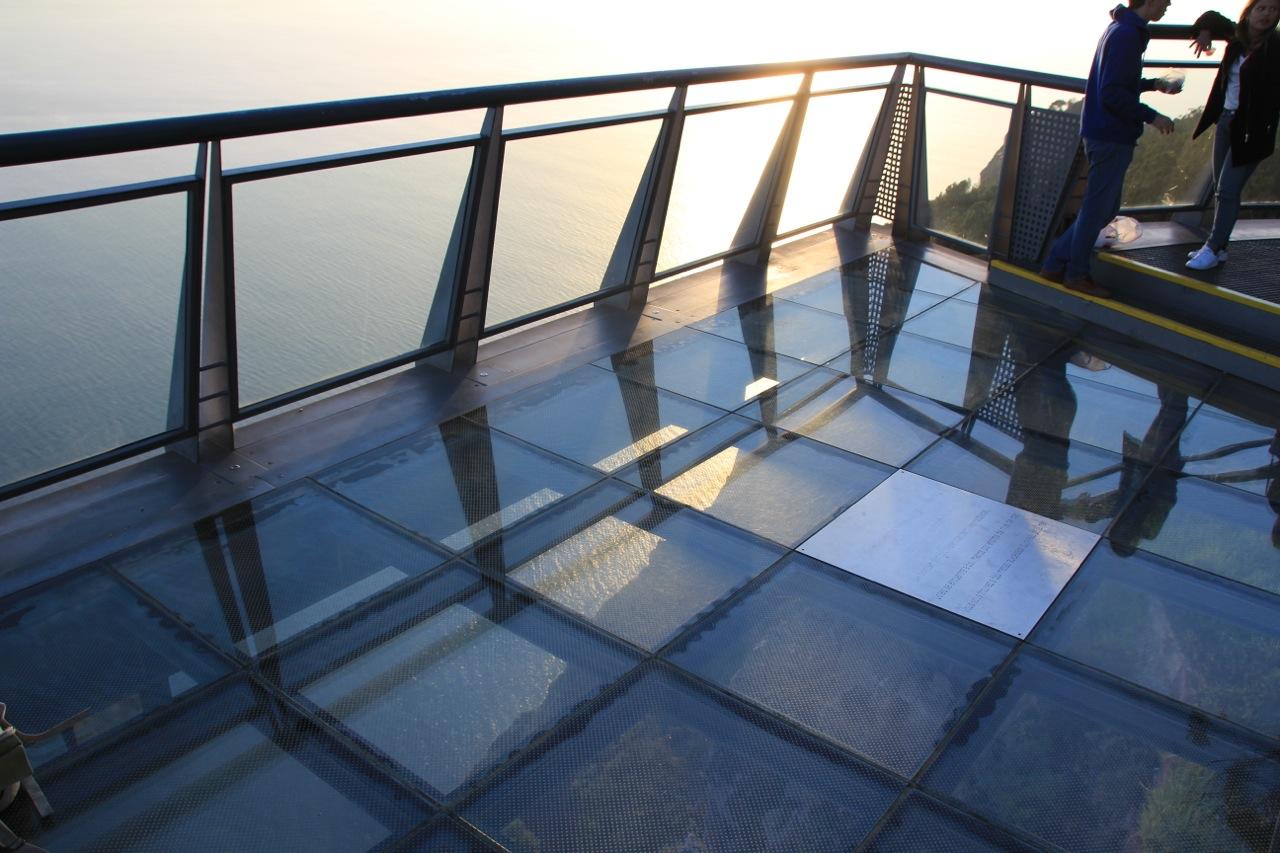 Der Glasboden des Cabo Girao