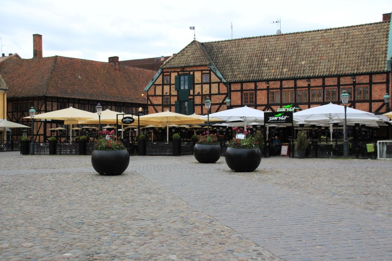 Altstadt Malmö. Viele Restaurants und Kneipen.