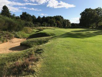 Woodhall Spa Hotchkin Course, Loch 17