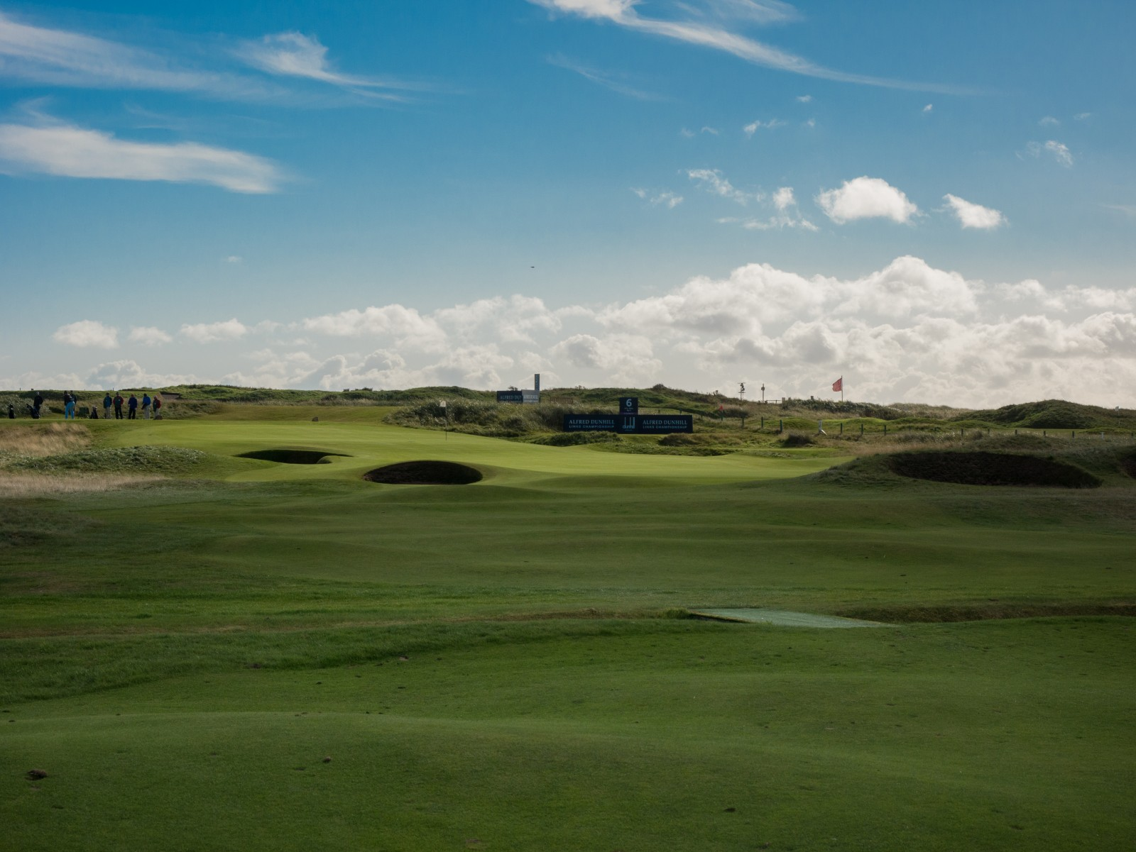 Fifty Shades of Green: Carnoustie Golf Links