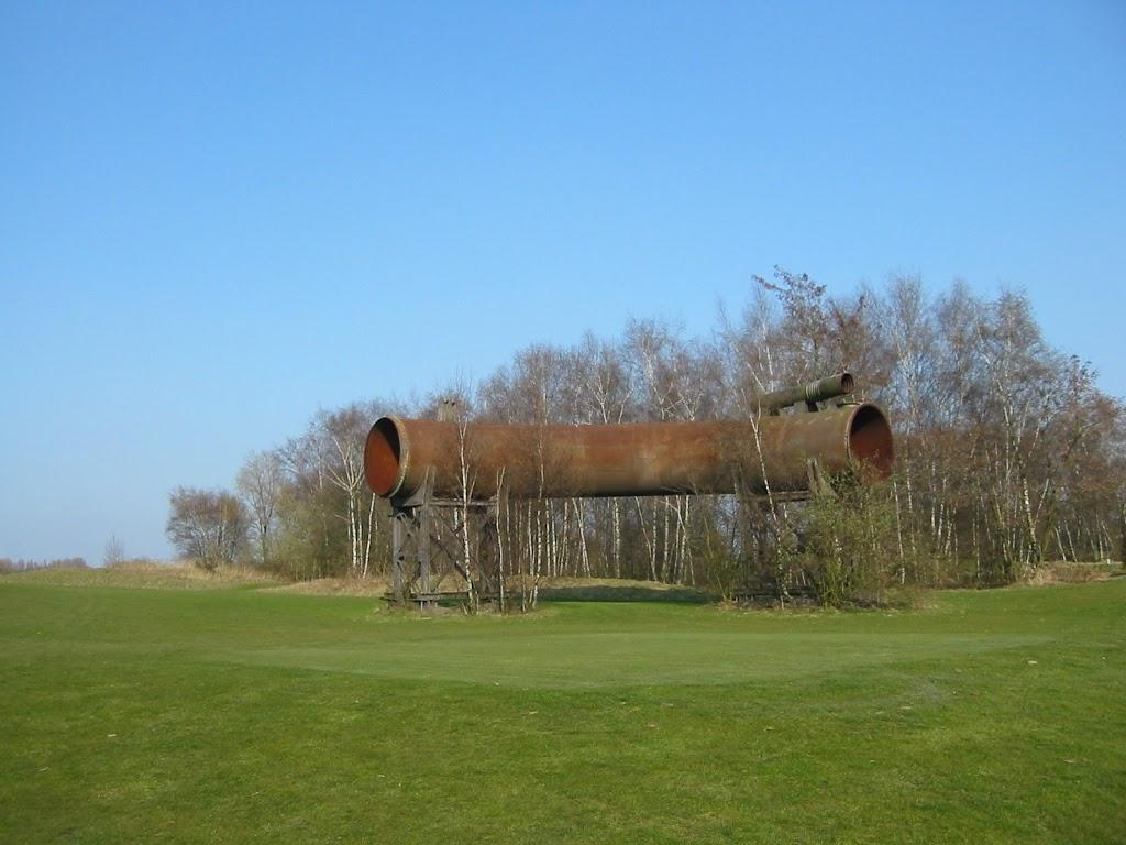 Das Rohr an Loch 2