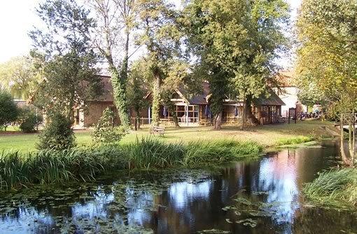 Das Clubhaus von Richings Park
